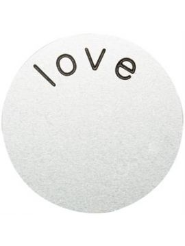 'Love' Large Silver Coin
