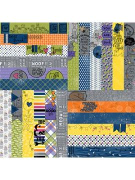 Frightful and Furry by Lauren Hinds Pet Border Strips