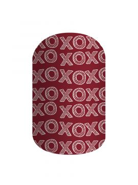 Hugs and Kisses - Nail Wrap
