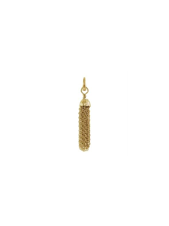 Gold Metal Tassel