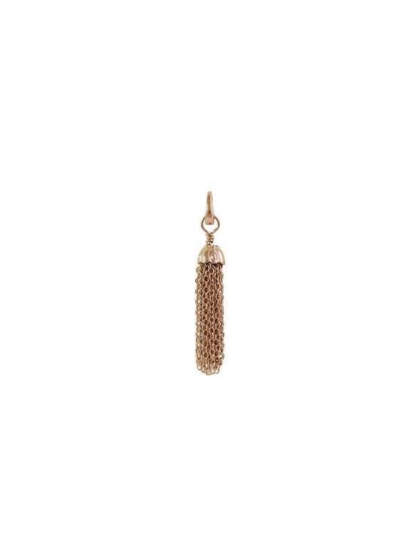 Rose Gold Metal Tassel