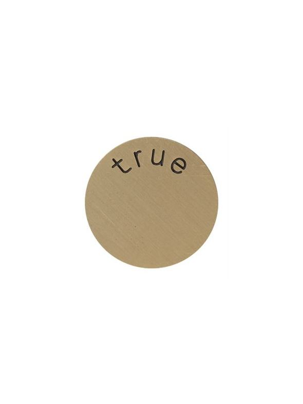 'True' Medium Gold Coin