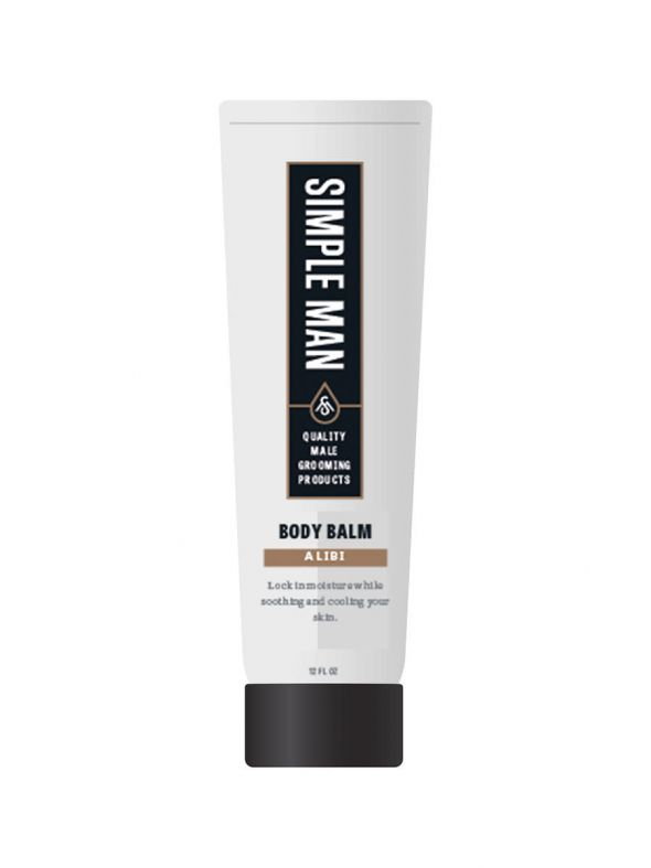 Simple Man Alibi Body Balm  8oz