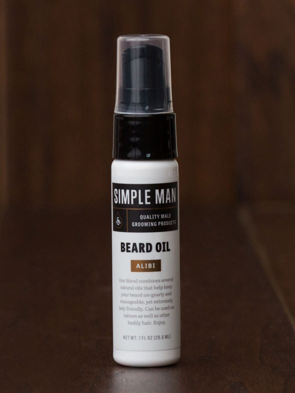 Simple Man Alibi Beard Oil 1oz