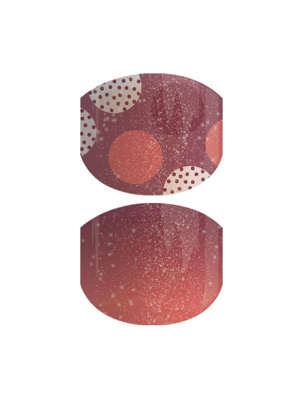 Dappling Dots Jr - Nail Wrap