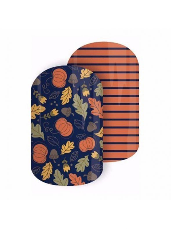 Pumpkin Patch - Nail Wrap