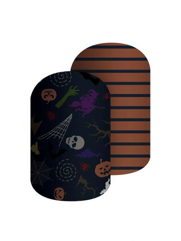 Spooky Good Time - Nail Wrap