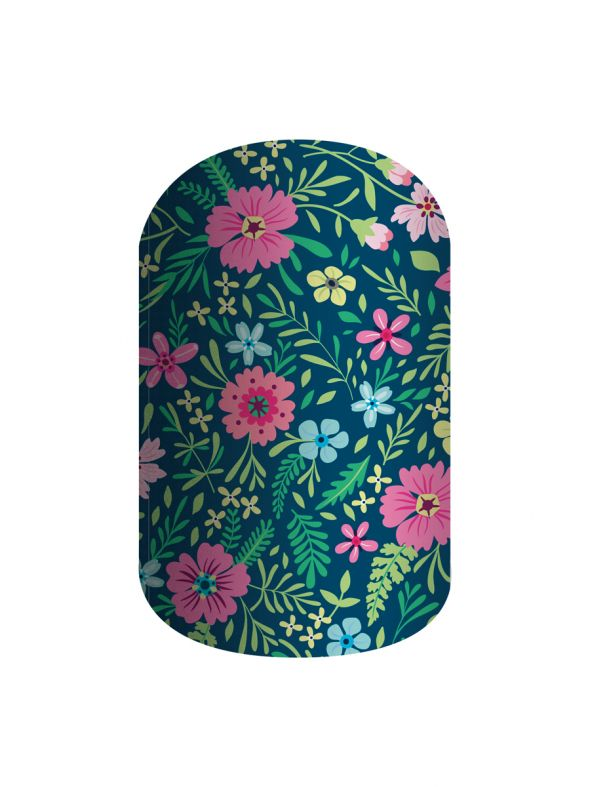 Floral Arrangement - Nail Wrap