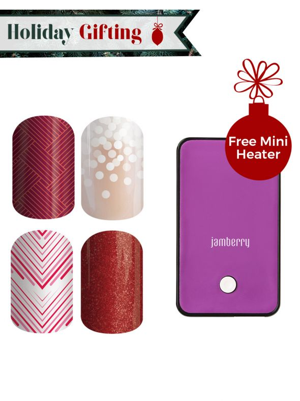 Holiday Nail Wraps - Buy 3, Get 1 Free
