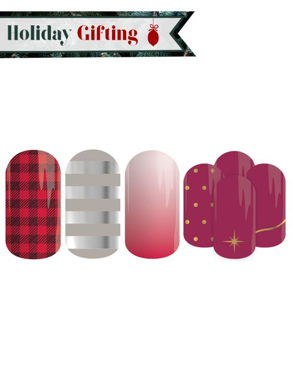 Holiday Nail Lacquer Strips - Buy 3, Get 1 Free