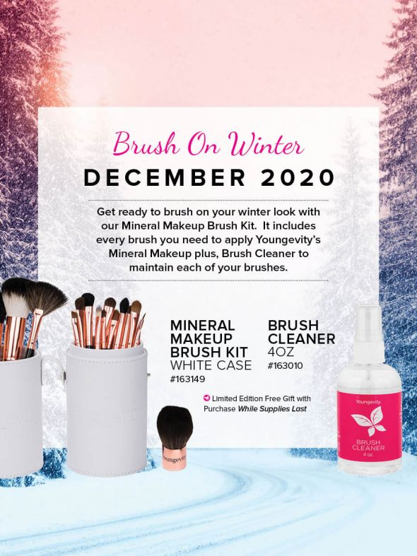 Mineral Makeup of the Month Club - December 2020