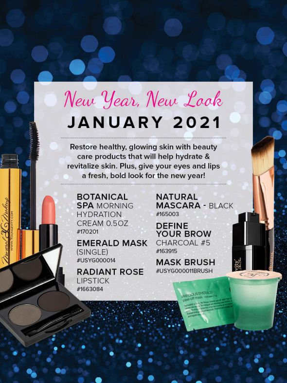Mineral Makeup of the Month Club - January 2021