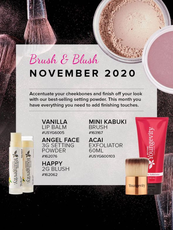 Mineral Makeup of the Month Club - November 2020