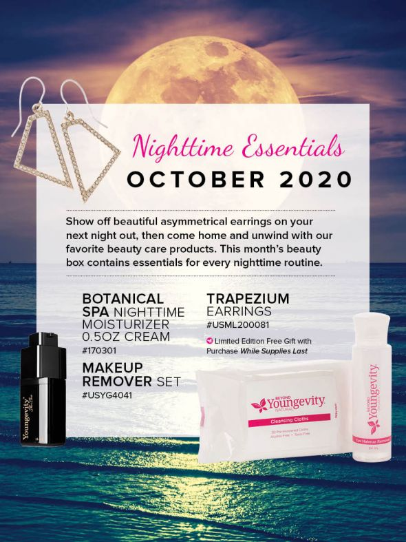 Mineral Makeup of the Month Club - October 2020