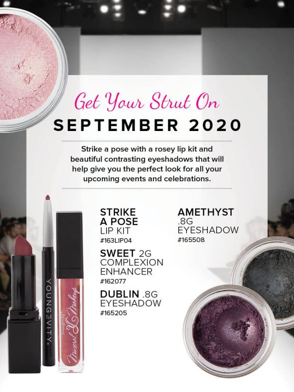 Mineral Makeup of the Month Club - September 2020