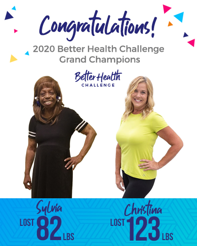 Better Health Challenge 2020 Champions